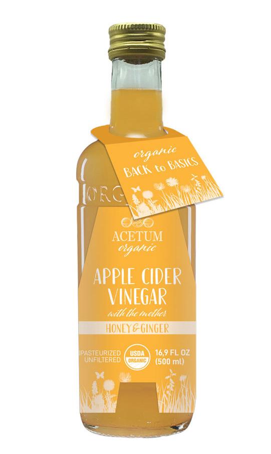 apple cider vinegar honey and ginger